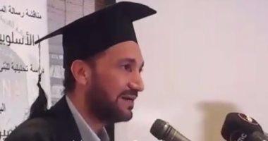 """"""" نورالدين """" يهنئ الموسيقار نصير شمه لحصوله على الدكتوراه"""